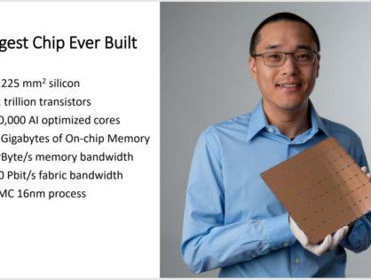 Gigantyczny procesor przyspieszy sztuczną inteligencję